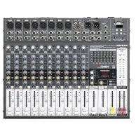 Powermixer PME122A DSP czytnik USB (MP3, WAV), Bluetooth | 2x320W/RMS/4ohm.